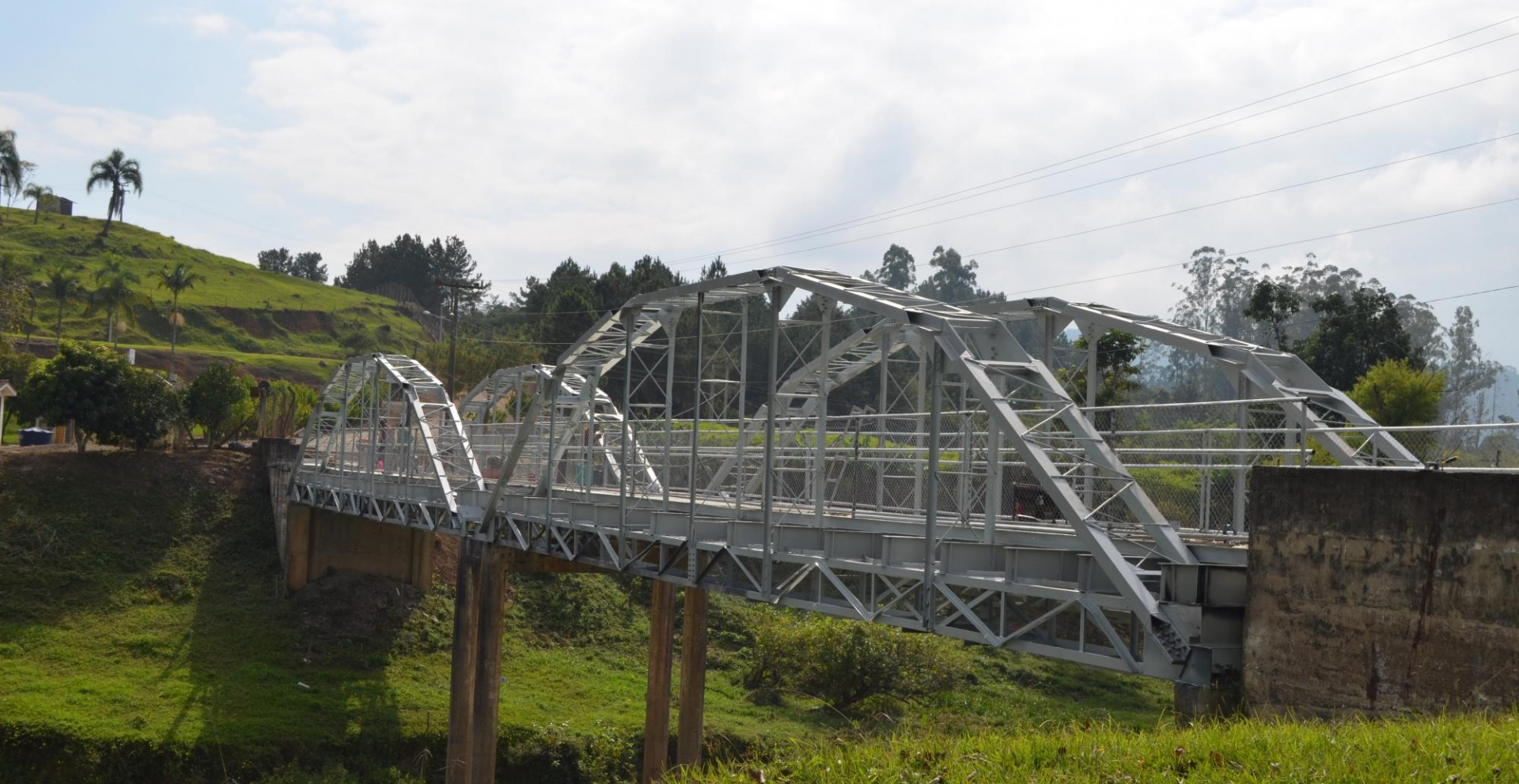 Vereadores acompanham conclusão das obras na Ponte da Barragem