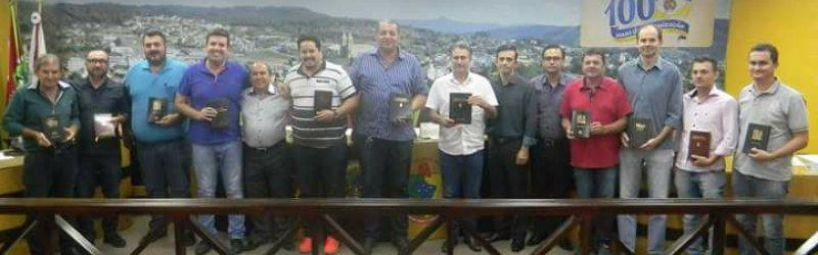 Visita do Pastor Lionel e representantes da Igreja Assembleia De Deus na sessão